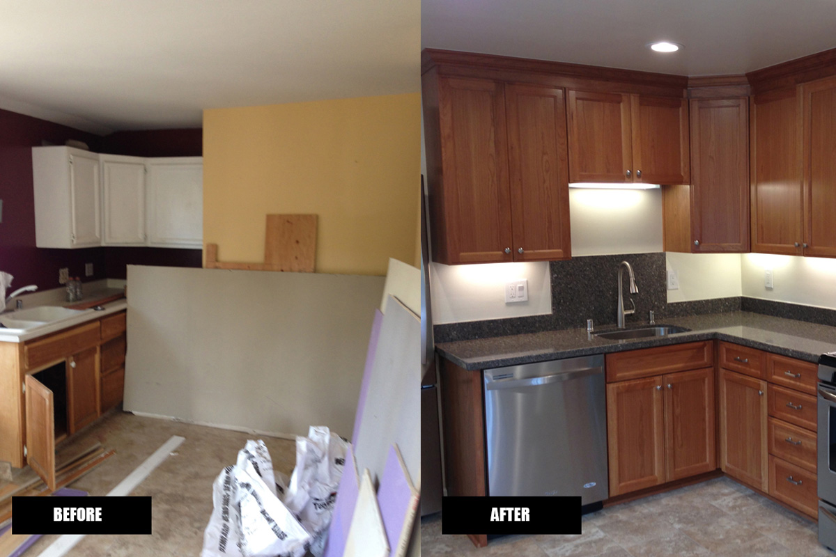 DA Fenolio Construction Management & Design Los Gatos CA Apartment Kitchen Renovation