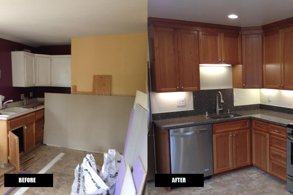 Fenolio Construction Inc. Los Gatos CA Apartment Kitchen Renovation