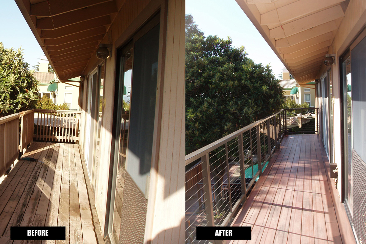 DA Fenolio Construction Management & Design San Jose CA Deck Remodel