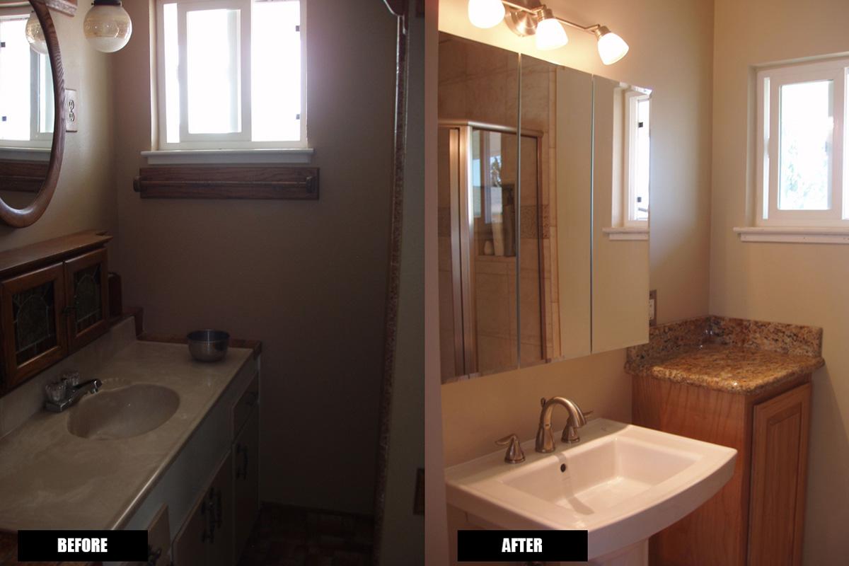 Fenolio Construction Inc. Santa Cruz CA Bathroom Remodel