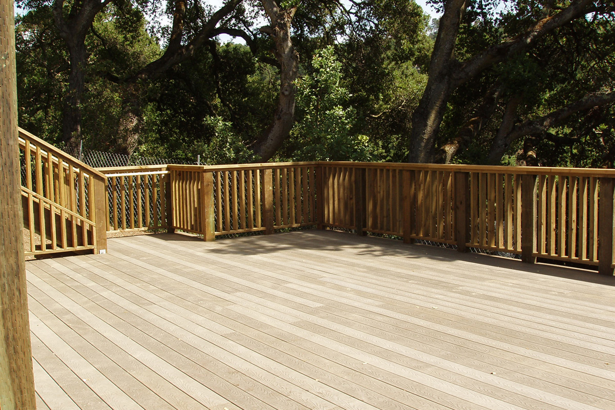 DA Fenolio Construction Management & Design Saratoga CA Deck Remodel After