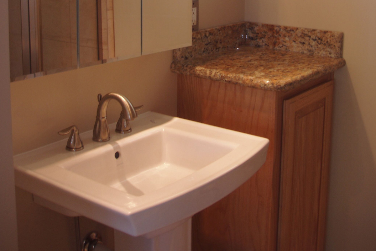 DA Fenolio Construction Management & Design Santa Cruz CA Bathroom Remodel After