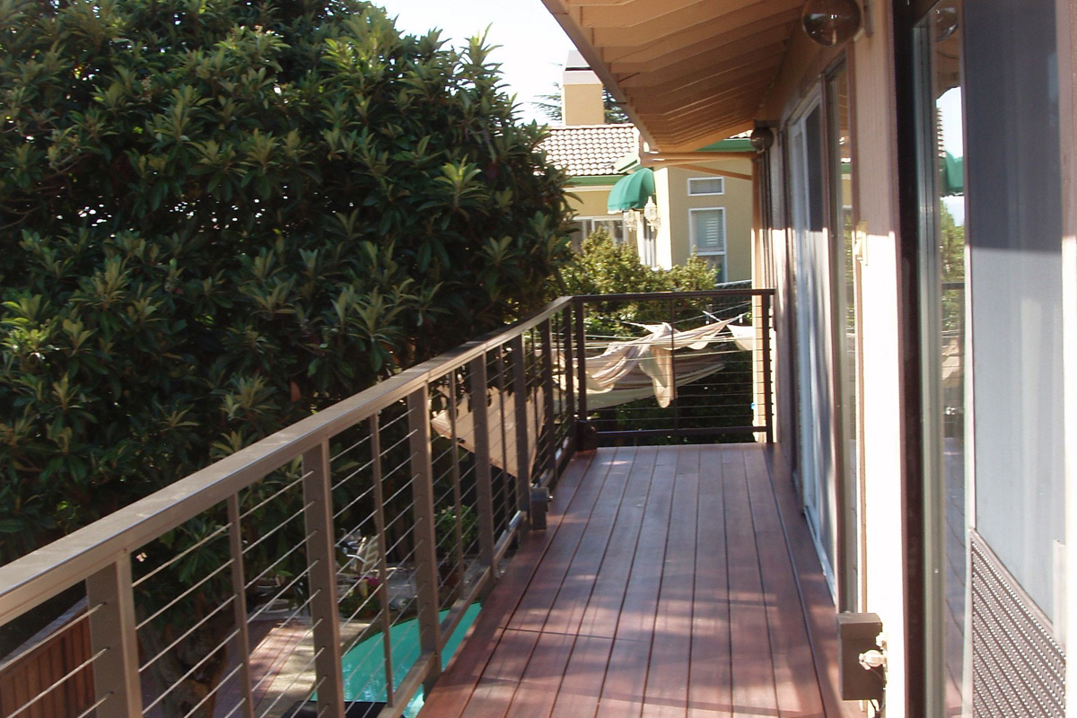 DA Fenolio Construction Management & Design San Jose CA Deck Remodel After