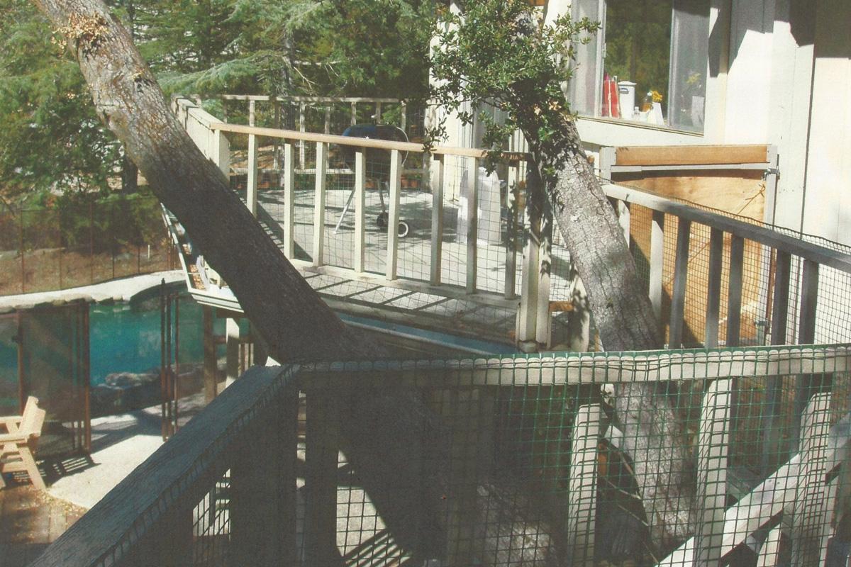 Fenolio Construction Inc. Saratoga CA Deck Remodel Before
