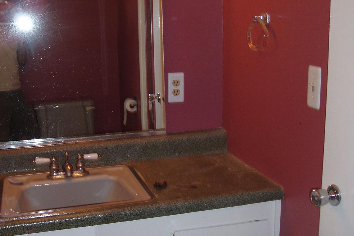 Fenolio Construction Inc. Santa Cruz CA Bathroom Remodel Before