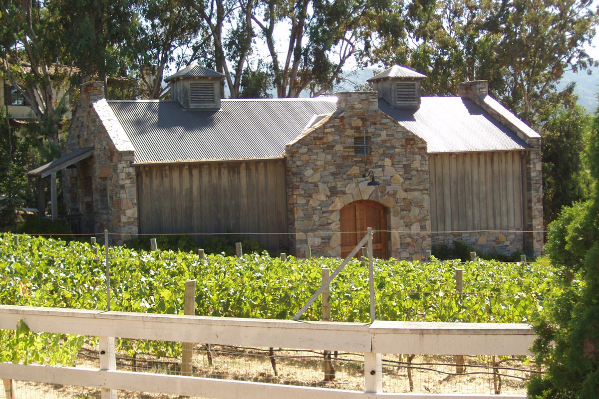 DA Fenolio Construction Management & Design Woodside Ca Winery Building